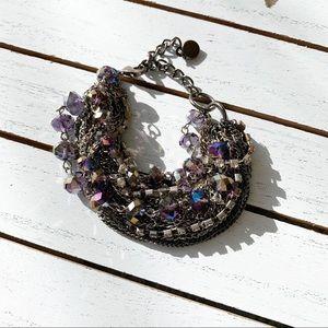 Jewelry - Trendy Twisted Metal Texture Bracelet